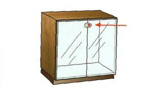 Zamki do drzwi szklanych